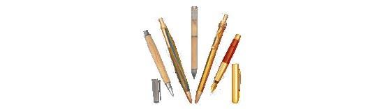 ~ Stylos en bois, stylo bille, stylo plume, accessoires pour stylos ~